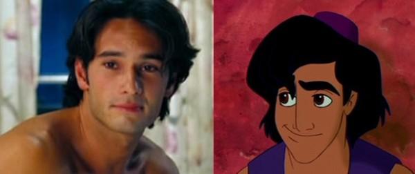 Chỉ cần thêm chiếc nón thì Rodrigo Santoro đã có thể đóng phim Aladin phiên bản người thật rồi.