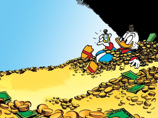 Hình ảnh đầu tiên hiển thị trên màn hình chiếc Macintosh là... Scrooge McDuck