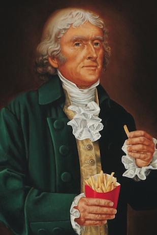 Năm 1802, Thomas Jefferson đã giới thiệu món khoai tây kiểu Pháp tại Nhà Trắng