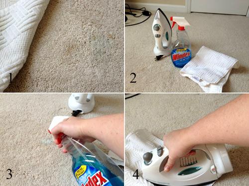 Làm sạch thảm lông