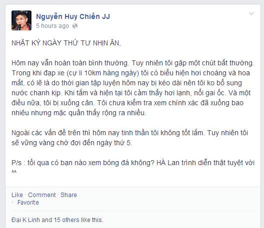 Nguyễn Huy Chiến- 12 ngày thanh lọc cơ thể