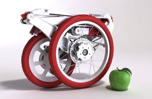 Bike Intermodal: Xe đạp điện xếp gọn nhất thế giới