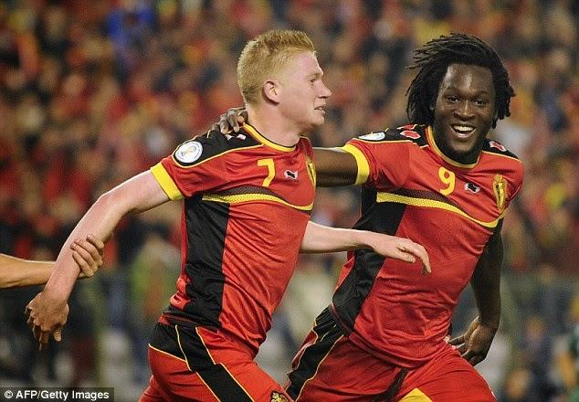 Đội tuyển Bỉ có chiều cao trung bình cao nhất ở World Cup 2014 - ẢNH: AFP/Getty Images
