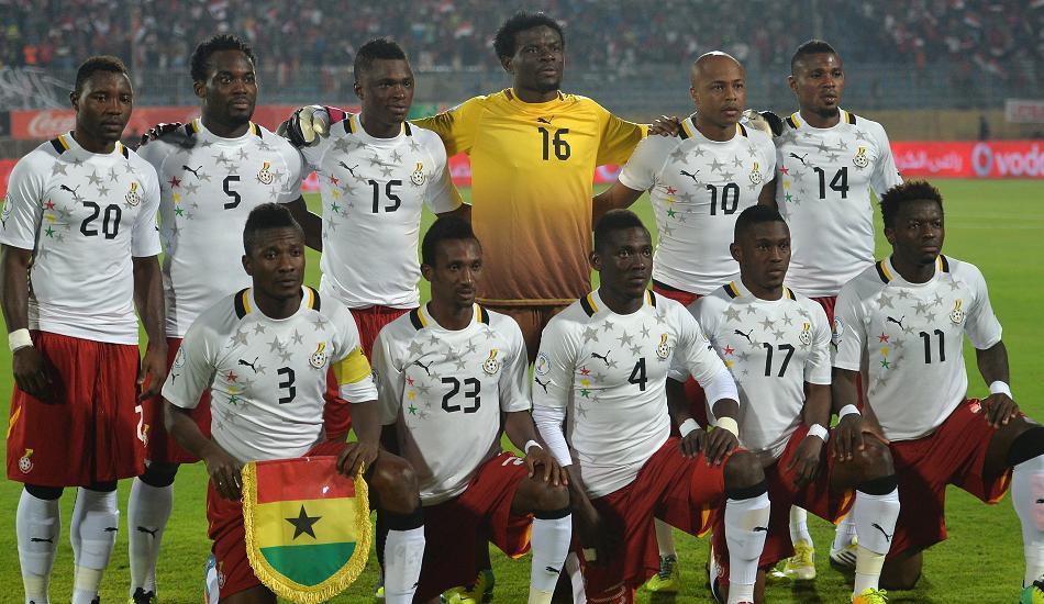 """Đội tuyển Ghana """"trẻ"""" nhất World Cup 2014 - Ảnh: ghanafans.com"""