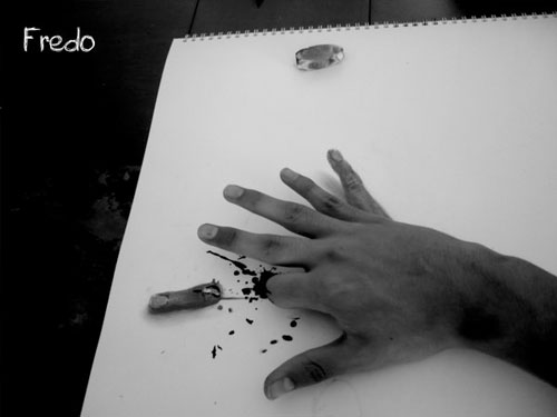 Sixth Finger 30 Life Like 3D Pencil Drawings by Wladimir Inostroza