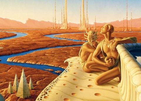 Việc tồn tại hay không sự sống trên sao Hỏa vẫn là một điều bí ẩn mà con người chưa thể khám phá. Ảnh: