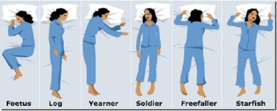 Tư thế ngủ nói gì về bạn?