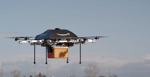 Máy bay không người lái của Amazon bay thử nghiệm