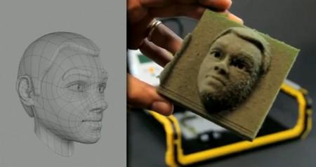 So sánh với hình ảnh đồ họa trên máy tính so với các tác phẩm được tạo ra từ chiếc máy in không hề có sự khác biệt.