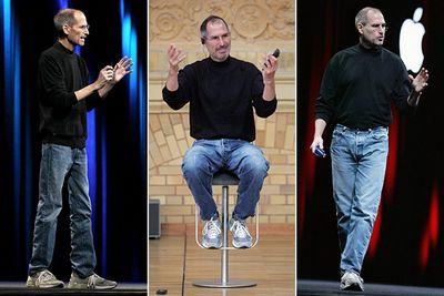 Phong cách thời trang đã trở thành biểu tượng của Steve Jobs