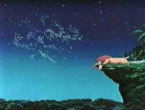 Dòng chữ trên bầu trời từng làm dấy lên sự ồn ào trong dư luận. Nguồn ảnh : buzz.