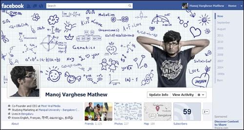 Những giao diện Timeline ấn tượng trên Facebook