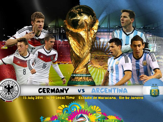 Những thông tin thú vị về trận chung kết Đức - Argentina