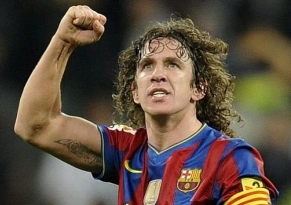 cựu trung vệ Carles Puyol của đội tuyển Tây Ban Nha và CLB Barcelona