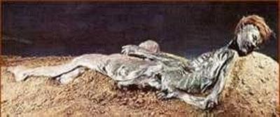 Xác ướp với bộ tóc đỏ được tìm thấy ở đầm lầy Bắc Âu
