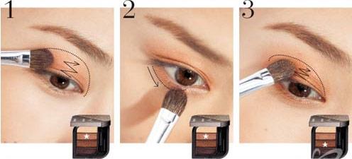 trang diem mat 2 Trang điểm mắt quyến rũ