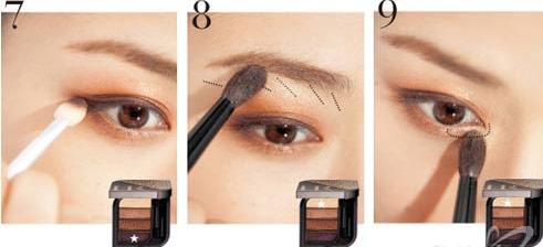trang diem mat 4 Trang điểm mắt quyến rũ