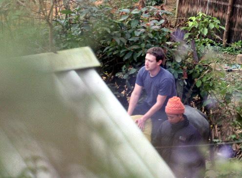 CEO Facebook cưỡi trâu ở Sapa