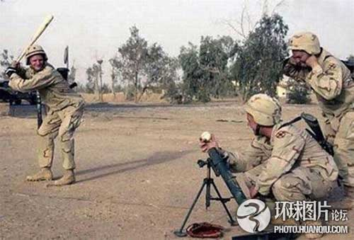 Ảnh vui về các binh sĩ trên thế giới | Cú đánh khó.