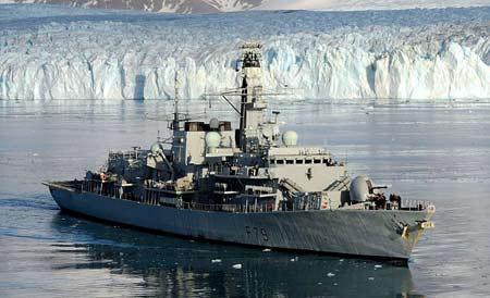 Tàu khu trục HMS Portland.