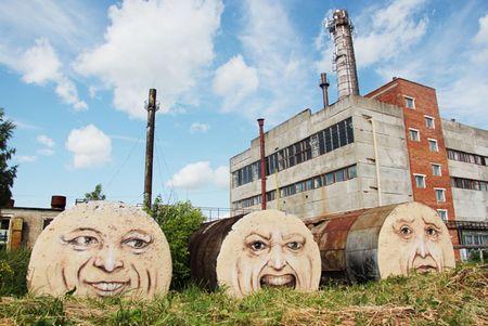 """Chiêm ngưỡng những """"ngôi nhà sống động"""" tại Nga"""