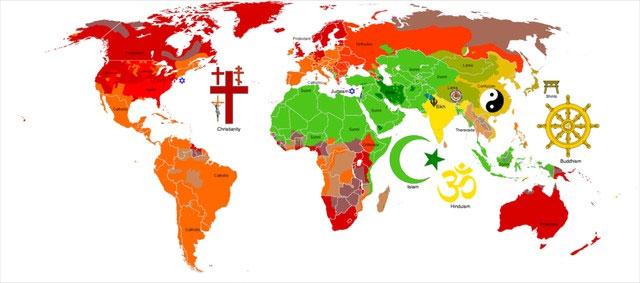 Những bản đồ thú vị về thế giới quanh ta