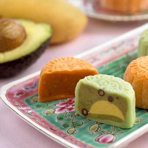 2. Bánh trung thu hoa quả