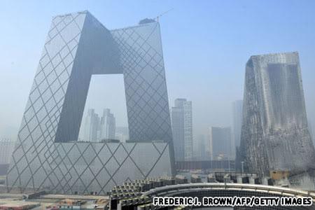 Trụ sở của Đài truyền hình trung ương Trung Quốc (CCTV)