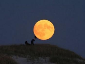 Dùng trăng để tập thể dục?