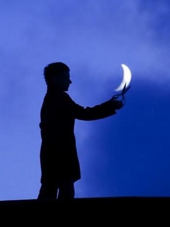 """""""Cắt nửa vầng trăng"""""""