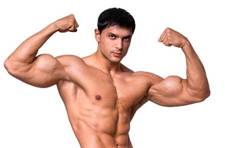 Ảnh minh họa thân hình chữ V (nghĩa là vai và ngực lớn hơn eo)