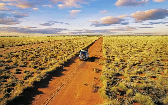 Sa mạc ở Australia