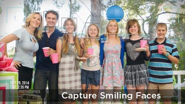 Chụp hình các thành viên trong gia đình dễ dàng