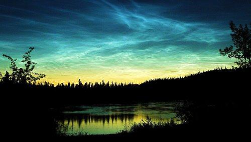 Đám mây Noctilucent