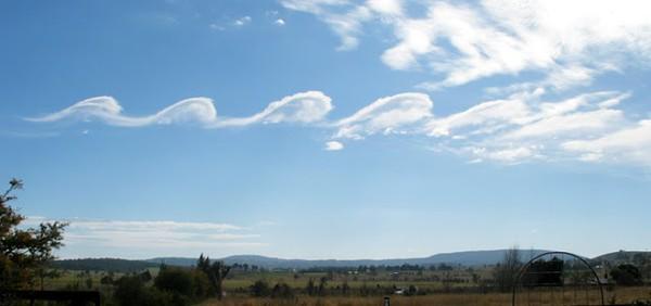 Mây Cirrus Kelvin-Helmholtz