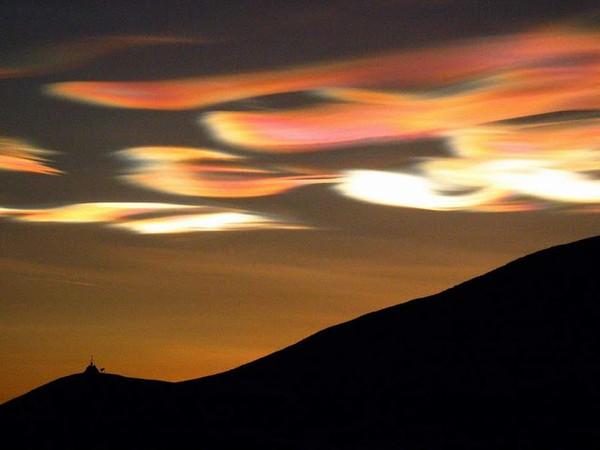 Đám mây Nacreous