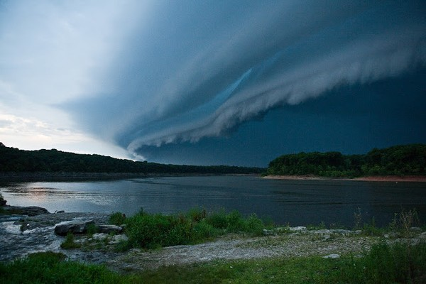 Mây Shelf Clouds