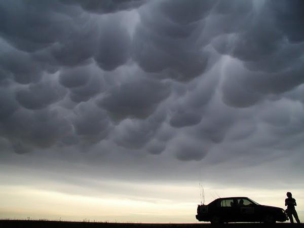 Đám mây Mammatus.