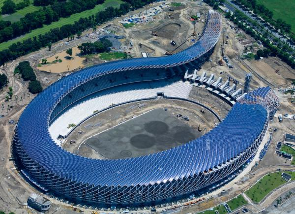 World Game (Đài Loan) - SVĐ sử dụng năng lượng mặt trời lớn nhất trên thế giới