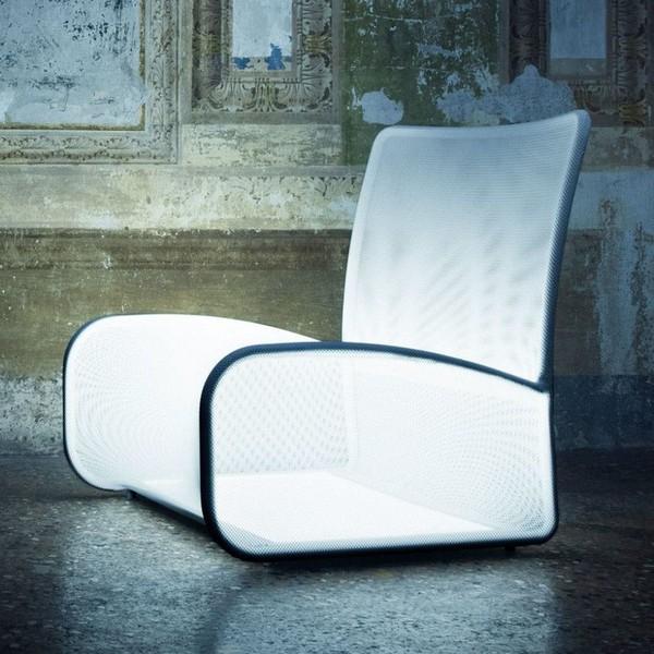 Nuvola di Luce: Chiếc ghế phát sáng độc đáo