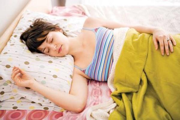 5. Một giấc ngủ ngon hơn là sex với chồng