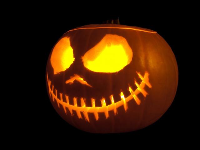 Những chiếc lồng đèn ngày Halloween