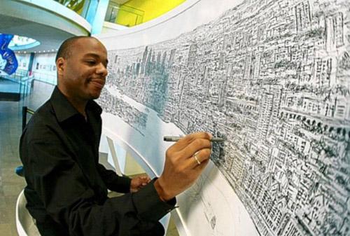 Stephen Wiltshire là một kiến trúc sư người Anh, người có thể vẽ một cách chính xác những gì được quán sát dù chỉ một lần.