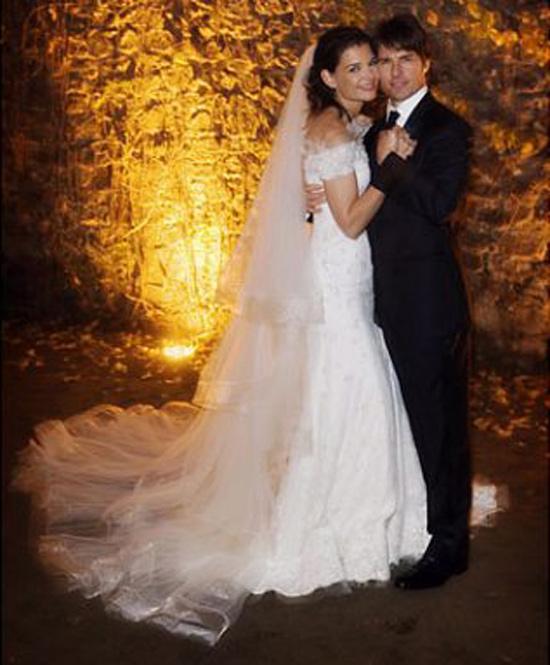 Đám cưới giữa 2 ngôi sao điện ảnh Tom Cruise và Katie Holmes vào năm 2005