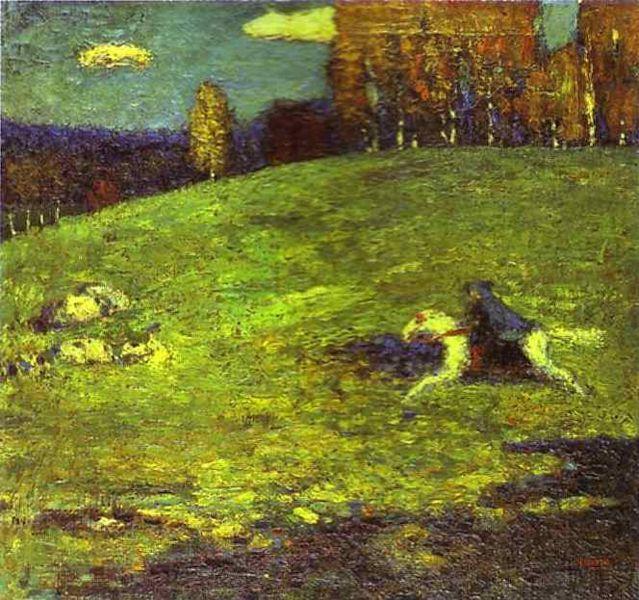 Tác phẩm Der Blaue Reiter (1903)