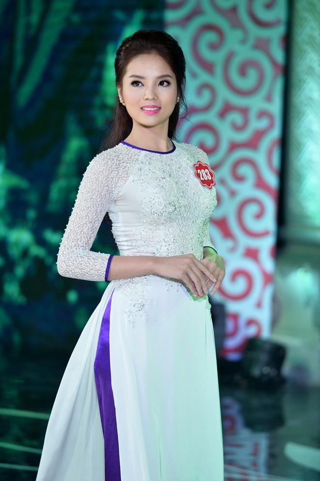 Hoa hậu Việt Nam là cuộc thi sắc đẹp đầu tiên mà Nguyễn Cao Kỳ Duyên tham dự