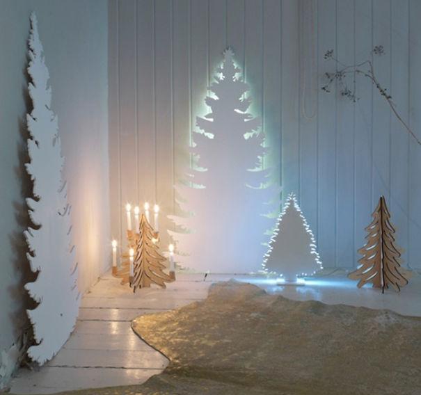 Những ý tưởng cực 'độc' cho cây thông Noel - Ảnh 11