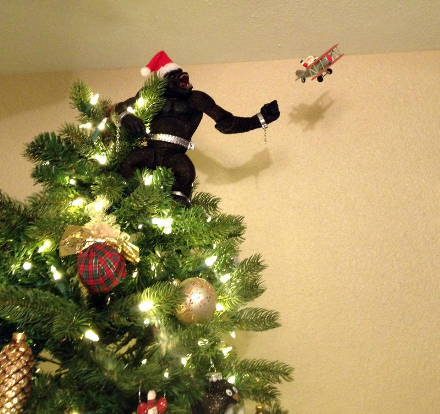 Những ý tưởng cực 'độc' cho cây thông Noel - Ảnh 13