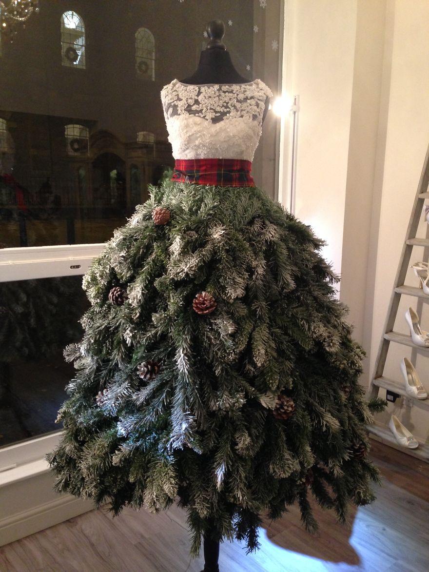 Những ý tưởng cực 'độc' cho cây thông Noel - Ảnh 3
