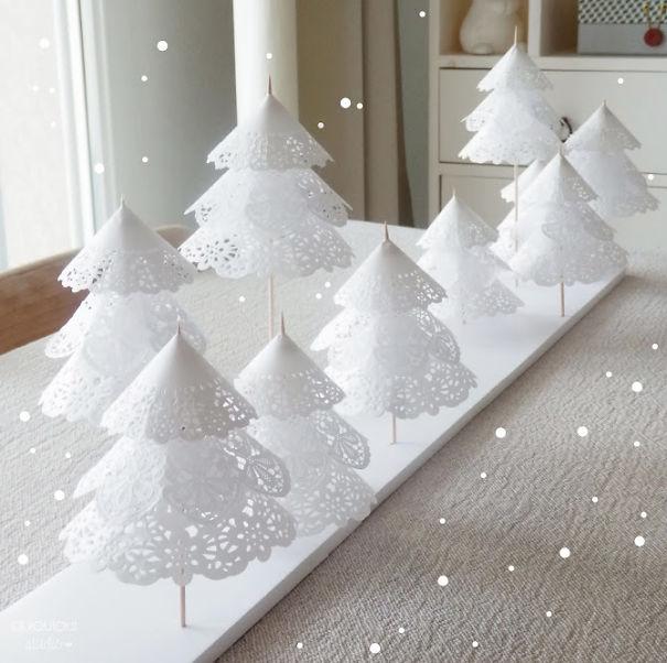 Những ý tưởng cực 'độc' cho cây thông Noel - Ảnh 6